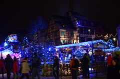 Lumires de ftes (Philippe Haumesser Photographies) Tags: christmas france lights illuminations colmar peoples marchdenol alsace nights nol elsass lumires gens colombages nuits clairages nikond7000 rememberthatmomentlevel1 rememberthatmomentlevel2 rememberthatmomentlevel3