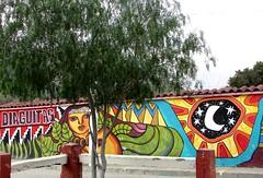 Mural (mariarl_art) Tags: mural diaguitas valle de elqui dibujos murallas colorido artstico pueblo indgenas