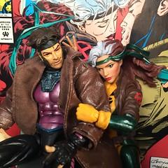True Love Never Dies (Richard Zimmons) Tags: toybiz hasbro 2016 annamarie remy superhero action figures comics legends marvel gambit rogue