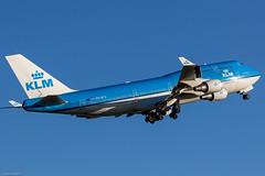Boeing 747-406 KLM PH-BFG (AMS) (Yohann CASSE) Tags: spotting spotteur aeroport airport amsterdam schiphol boeing b747 klm royal dutch airlines phbfg 747406