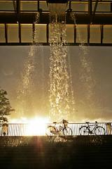 Les Halles2 (livihegedus) Tags: rain paris bycicles