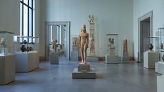 Metropolitan Museum of Art (Robert Wash) Tags: newyork ny newyorkcity nyc manhattan metropolitanmuseumofart met gallery154 greek art sculpture kouros