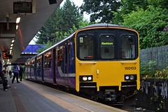 150103, Salford Crescent (JH Stokes) Tags: 150103 class150 northernrail salfordcrescent manchester dmu dieselmultipleunits passengertrains publictransport sprinter trains trainspotting transport railways photography