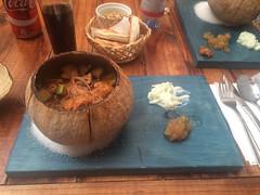 """San Pedro de Atacama: poulet au curry et nouilles de riz. Un délice ! <a style=""""margin-left:10px; font-size:0.8em;"""" href=""""http://www.flickr.com/photos/127723101@N04/28609125293/"""" target=""""_blank"""">@flickr</a>"""
