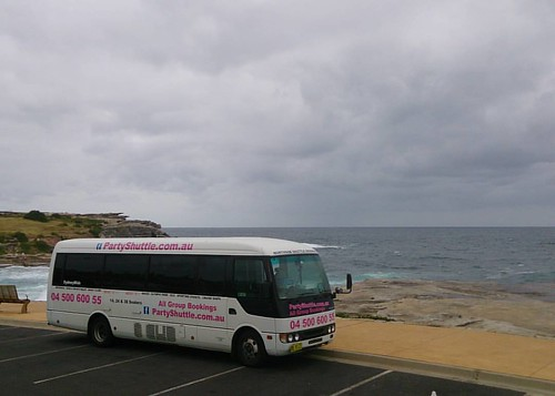 Don't let the rain stop you from having fun!  Party Shuttle will take you whereever you want to go even on a cloudy day like today. Call Party Shuttle on 04 500 600 55 to book.