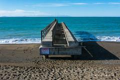 Old Dominion Salt Jetty, Clifford Bay, Lake Grassmere, Marlborough (flyingkiwigirl) Tags: marfells beach lake grassmere marlborough old dominion salt jetty clifford bay campbell cape