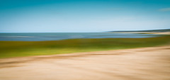 beach dreams (mgstanton) Tags: laborday cape beach summer dennis capecod abstract motionblur sky seagrass sand slowshutter