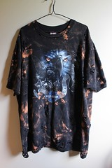Splatter Bleached and Shredded Harley Davidson T Shirt (shopthegasstation) Tags: mens guys ladies womens girls unisex harleydavidson biker motorcycle black ripped altered grunge bleach bleached dye dyed distressed destroyed shredded cur clothing clothes tshirt tee shirt top jersey california