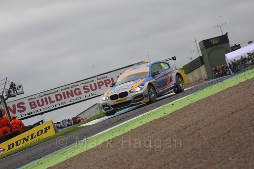 Rob Collard in BTCC race two at Knockhill Weekend 2016