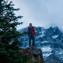 DSC_0136 (Adrian De Lisle) Tags: lakemoraine banffnationalpark banff mountains clouds