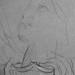 CHASSERIAU Théodore,1843 - Ste Marie l'Egyptienne, Légende, Etude pour l'Eglise St-Merri, Paris (drawing, dessin, disegno-Louvre RF24723-Recto) - Detail  9