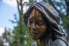 My Funny Valentine (brev99) Tags: sigma185028hsm d7100 statue bluesky bokeh perfecteffects10 ononesoftware nikdfine trees park woodwardpark