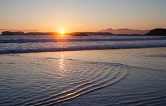 Sunset on Chesterman Beach (Cyrielle Beaubois) Tags: canada landscape island sunset pacific ocean pacificrim national park beach chesterman 2016 bc britishcolumbia canoneos5dmarkii cyriellebeaubois seattle tofino ucluelet vancouver travel