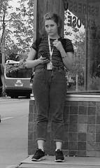 (daveson47) Tags: monochrome mono bw blackandwhite blackwhite candid people street streetphotography minneapolis ricoh ricohgrd grd streetphoto