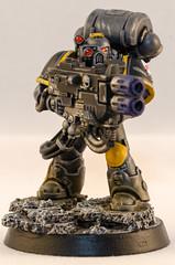 Red Scorpion Devastator (Will Margett Photography) Tags: gamesworkshop warhammer 40000 40k spacemarine redscorpion devastator model miniture nikon d7000