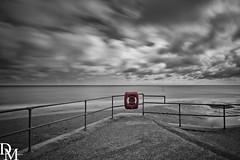 Mundesley 2 (davemoly17) Tags: davidmolyneuxphotography sea seaside beach beachhuts coast sand groynes waves water mundesley norfolk lifeboat sunny canon eos 1100d sigma wideangle