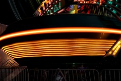 DSC02229 (Moodycamera Photography) Tags: canadiannationalexhibition cne toronto ontario nightphotography rides slowshutterspeed long exposurerlights ferriswheel swing turning twisting spining amusment horse hdr
