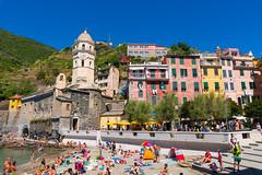 Cinque Terre -Vernazza- 01 (tomomega) Tags: cinqueterre italy laspezia    sea building   worldheritage
