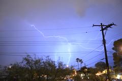 Suburan Lightning (b_d_w_s) Tags: lightning suburban experiment storm nikon nikond3100 nighttime nightphotography unedited unprocessed incamera