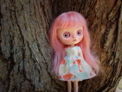 Little magical pixie in the tree