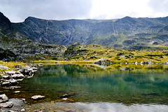 The Trefoil Lake, Rila, Bulgaria (Angelina Ra) Tags: nikon d3100 nature water blue reflection seven rilla lakes mountain bulgaria greaterphotographers