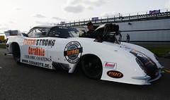 Corvette (Fast an' Bulbous) Tags: car vehicle automobile drag strip race track santa pod england outdoor nikon d7100 gimp september motorsport
