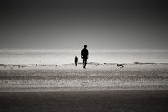 3946 Crosby beach (andy linden) Tags: crosby beach anthony gormley statue 3946