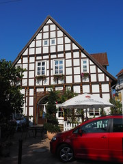 Hotel Storck (1elf12) Tags: fachwerk badlaer germany deutschland hotelstorck maisoncolombages truss halftimbered