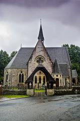 5 Luss Parish Church (daedmike) Tags: luss lussparishchurch church christian spire entrance parish scotland lochlomond quaint
