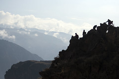 ants (sophs123.) Tags: colca canyon peru arequipa south america latinoamerica chivay silhouette mountains landscape nature wildlife canon canon400d travel photography summer