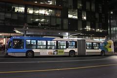 STM Bus (So Cal Metro) Tags: bus metro transit nova novabus artic articulatedbus articulated bendybus montreal stm night