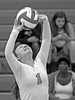 IMG_4609 (SJH Foto) Tags: girls volleyball high school lancaster mennonite pa pennsylvania team tween teen teenager varsity black white blackandwhite bw monocolour setter