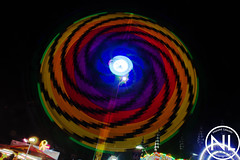 Lincoln fairground September 2016 (naomi_linc) Tags: fairground fair light lights colourful longexposure movement naomilincolnphotography outdoor night black blue red yellow green pink purple lincoln uk