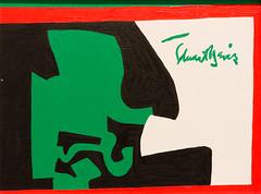 Study for Pochade No. 3, 1958 (Jonathan Lurie) Tags: art museums stuart davis museum wisconsin milwaukee mam artinmuseums milwaukeeartmuseum milwaukeewisconsin stuartdavis unitedstates us photographsofart