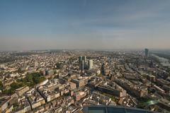 2016 Blick vom Maintower in Frankfurt Richtung Osten (mercatormovens) Tags: frankfurt city skyline ezb ostend myzeil paulskirche altstadt innenstadt architektur stadtlandschaft