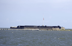 First Look at Fort Sumter (dcnelson1898) Tags: charleston southcarolina nps nationalparkservice southeast atlanticocean coast travel vacation holiday civilwar history militaryhistory fortsumter