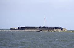 First Look at Fort Sumter (dcnelson1898) Tags: charleston southcarolina nps nationalparkservice southeast atlanticocean coast travel vacation holiday civilwar history militaryhistory fortsumter