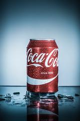 Cola can (karol_sobotka) Tags: cola cocacola comercial ice glas drink soda can