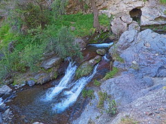 Flowing water (Ratee Rats) Tags: parque aguas ramn apoquindo salto trekking santiago chile canon sx50hs hdr