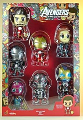 Hot Toys  Cosbaby  Avengers 2  The Age of Ultron Series  Series 2  Front (My Toy Museum) Tags: hot toys cosbaby avengers age ultron action figure series