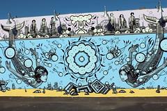Brooklyn - Coney Art Walls: The London Police (wallyg) Tags: bobgibson brooklyn chazbarrison coneyartwalls coneyisland kingscounty londonpolice mural newyork newyorkcity ny nyc streetart thelondonpolice tlp