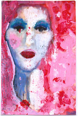 From Anne-Sofie sterhus (tofuart) Tags: mailart art mixedmedia pink postal postcard norway