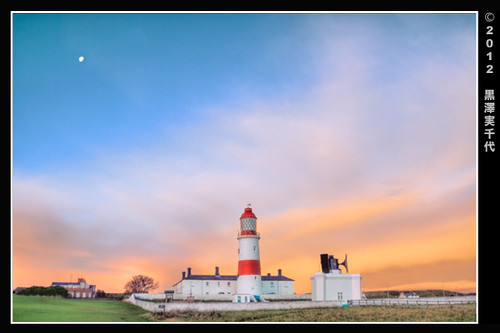 Sunrise・Souter Lighthouse/ 日の出・スーター灯台