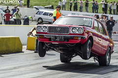 RX3 (Full Motion Photography) Tags: melbourne wheelstand mazda drags rotor hangtime rx3 brap