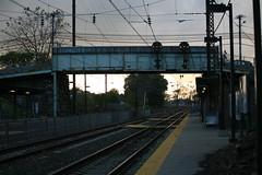 Paoli Station (Mark Vogel) Tags: railroad electric train eisenbahn railway wires signal catenary prr pl signaux chemindefer signale pennsysignal keystonecorridor positionlightsignal