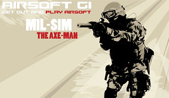 AirsoftGI MIL-SIM Wallpaper (HCF (Mini Munitions)) Tags: man military bob simulation axe gi airsoft milsim asgi hk416