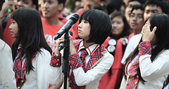 Dhike (Tira Arafa) Tags: group idol dhike jkt48