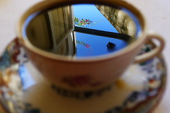 the unexpected visit (*F~) Tags: cup coffee café blur morning sky cafeína thehours goodmorning wind blue window dialogues silence light november explore