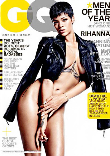 RIHANNA GQ MEN OF THE YR PHOTO GALLERY . pictures from rihanan gq magazine photo shoot