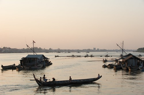 Tonle Sap River, Cambodia. Photo by Patrick Dugan, 2010.